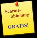 Schrottabholung